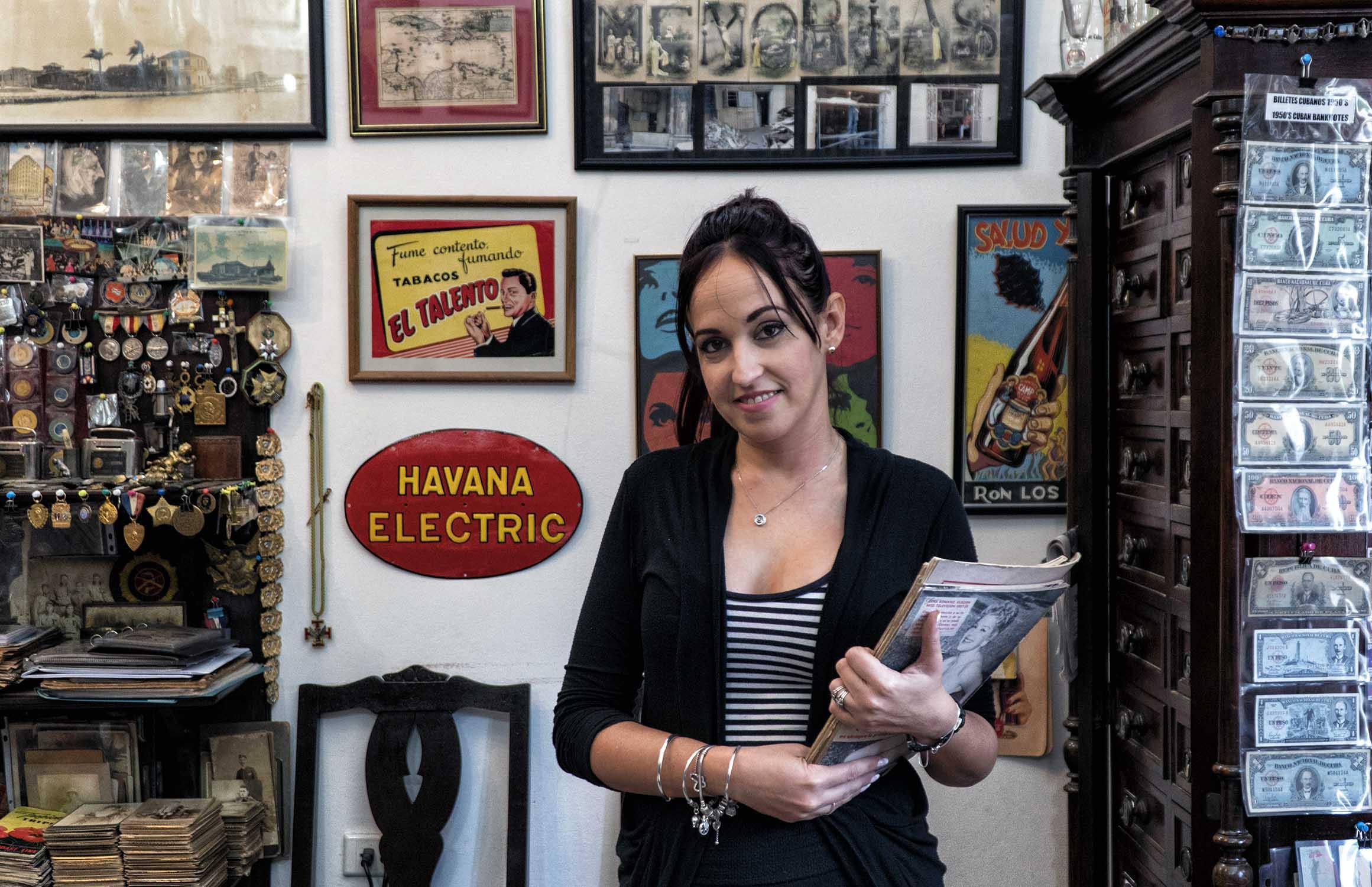 Küba'da bir aile işletmesi