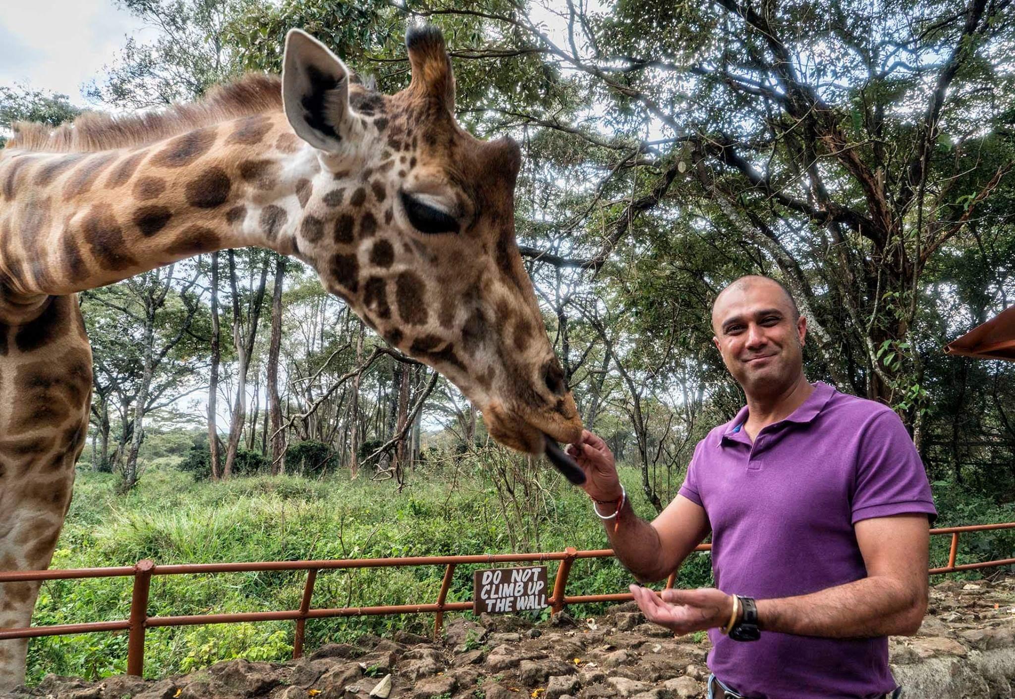 Safari benim hayatım